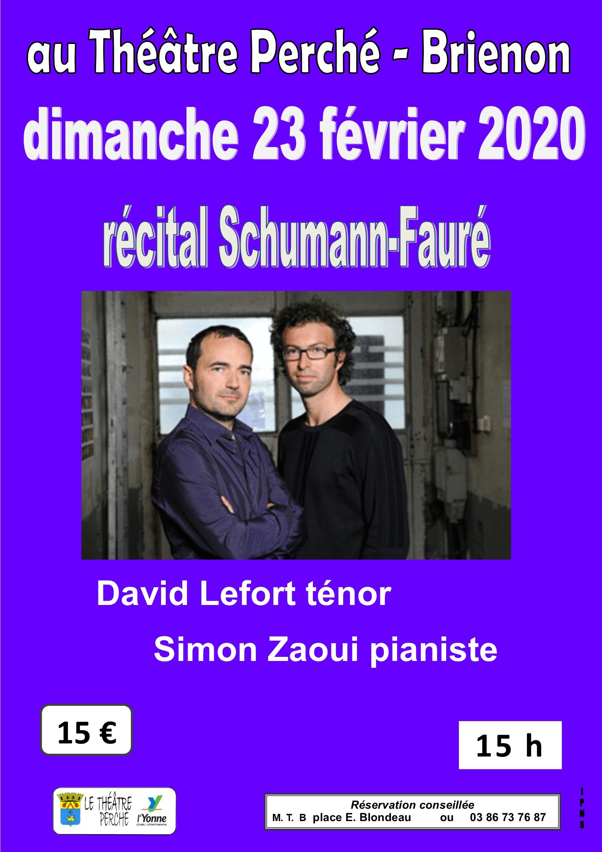 11 récital Schumann Fauré