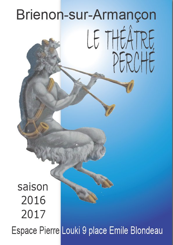 couverture saison 2016-2017 au Théâtre Perché